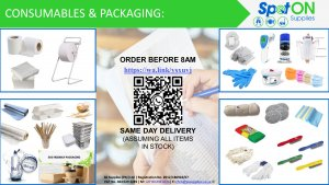 packaging and consumables